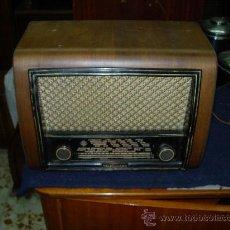Radios de válvulas: RADIO TELEFUNKEN FUNCIONANDO. Lote 26961378