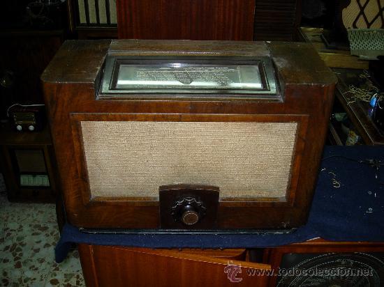 PHILIPS MONOMANDO (Radios, Gramófonos, Grabadoras y Otros - Radios de Válvulas)
