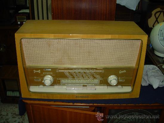 RADIO GRAETZ FUNCIONANDO (Radios, Gramófonos, Grabadoras y Otros - Radios de Válvulas)