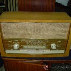 Radios de válvulas - Radio Graetz funcionando - 28760138