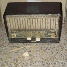 Radios de válvulas: RADIO MARCA ANGLO , MODELO 179 J . 115/125 VOLTIOS . NO FUNCIONA . VER DESCRIPCION . . Lote 29091544