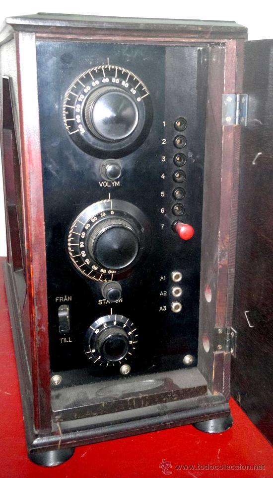 Radios de válvulas: RADIO RADIOLA AÑO 1929 - Foto 3 - 30360460