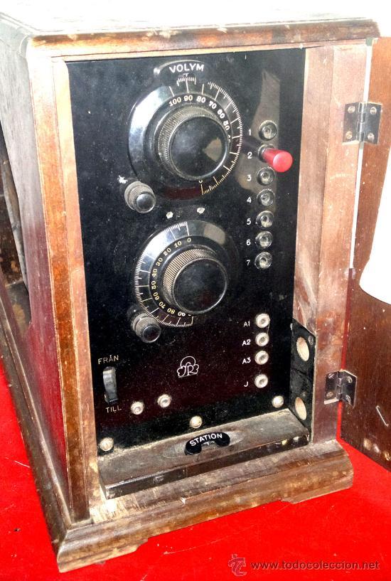 Radios de válvulas: RADIO RADIOLA AÑO 1930 - Foto 2 - 30360683