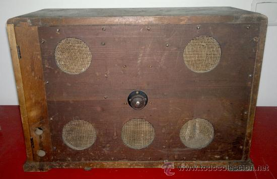 Radios de válvulas: RADIO RADIOLA AÑO 1930 - Foto 6 - 30360683