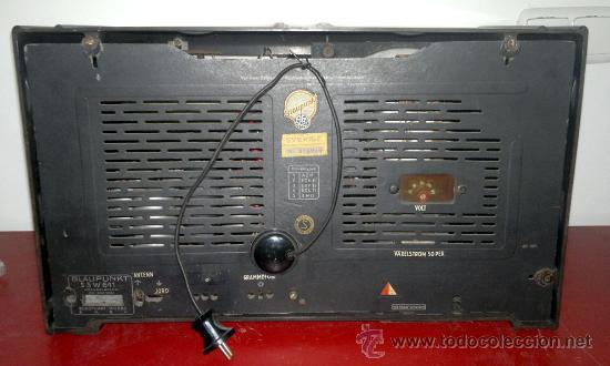 Radios de válvulas: RADIO BLAUPUNKT - Foto 5 - 30360975