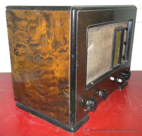 Radios de válvulas: RADIO RADIOLA - Foto 3 - 30377961