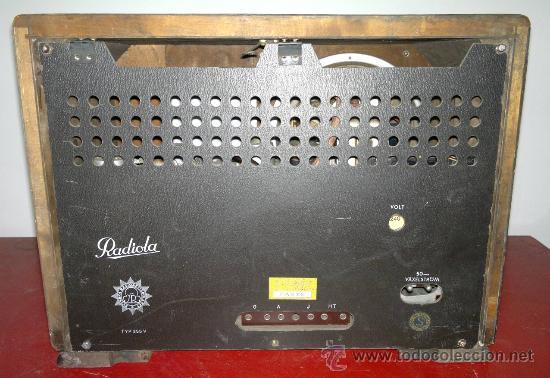 Radios de válvulas: RADIO RADIOLA - Foto 6 - 30377961