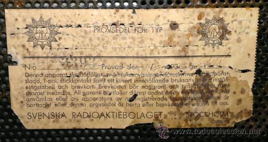 Radios de válvulas: RADIO RADIOLA - Foto 8 - 30377961
