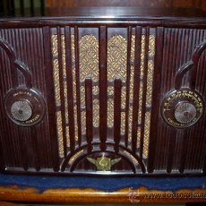 Radios de válvulas: RADIO EMERSON FUNCIONANDO. Lote 30447758