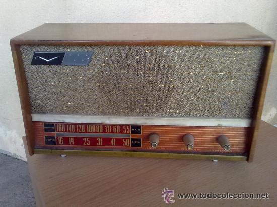 RADIO ANTIGUA LEER (Radios, Gramófonos, Grabadoras y Otros - Radios de Válvulas)
