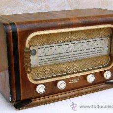 Radios de válvulas: RADIO ANTIGUA BAQUELITA DE VALVULAS DE LA MARCA EMOUZY (PARIS) , FUNCIONANDO, RADI365. Lote 31179078