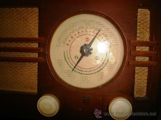 Radios de válvulas: RADIO PHILIPS BE - 382 - A. CAJA DE MADERA. FUNCIONA. FALTA ANTENA - Foto 4 - 31251200