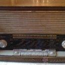 Radios de válvulas: &-RADIO: LOEWE OPTA(TRUXA STEREO).TYPE 4741W.MADE IN GERMANY.MEDIDAS:60X20X34(ALTURA). Lote 31312315