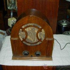 Radios de válvulas: RADIO CAPILLA. Lote 31521471