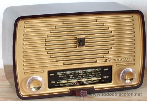 GRUNDIG MODELO 80 U: RECEPTOR DE RADIO A VÁLVULAS (Radios, Gramófonos, Grabadoras y Otros - Radios de Válvulas)
