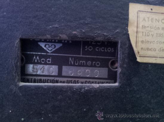 Radios de válvulas: Preciosa y antigua radio OLYMPIA - Foto 6 - 27430774