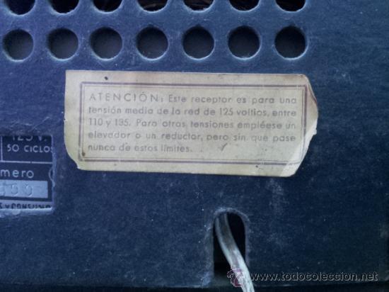 Radios de válvulas: Preciosa y antigua radio OLYMPIA - Foto 7 - 27430774