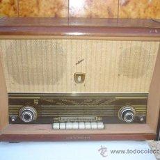 Radios de válvulas: RADIO DE VALVULA PHILIPS. Lote 33261412
