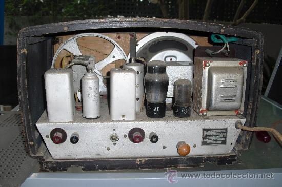 Radios de válvulas: RIDER RADIO - RADIO ESPAÑOLA - Foto 5 - 33656517