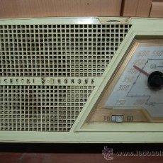 Radios de válvulas: DUCRETET THOMSON RADIO A VALVULAS FUNCIONA CON RUIDOS. Lote 33673308