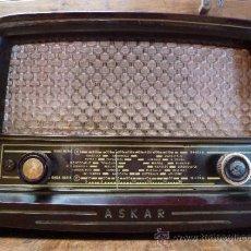 Radios de válvulas: RADIO ANTIGUA ASKAR 457 U. Lote 34407638