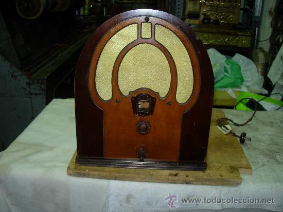 RADIO PHILCO FUNCIONANDO (Radios, Gramófonos, Grabadoras y Otros - Radios de Válvulas)