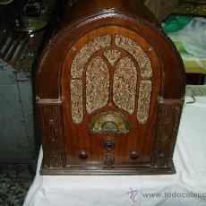 Radios de válvulas: RADIO CAPILLA ATWATER KENT FUNCIONANDO. Lote 34454787