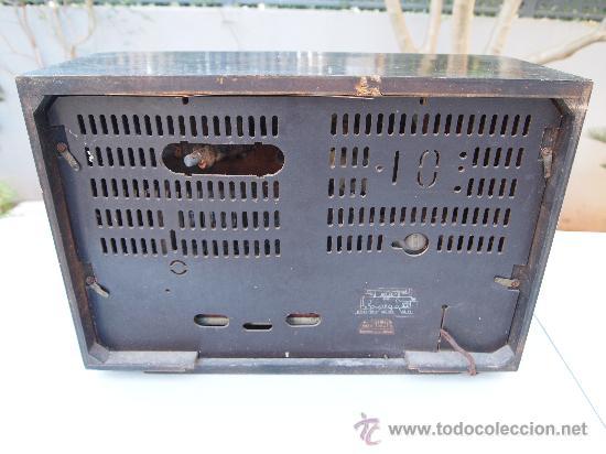 Radios de válvulas: RADIO A VALVULAS PHILIPS , DE LOS AÑOS 50 - Foto 5 - 35089856
