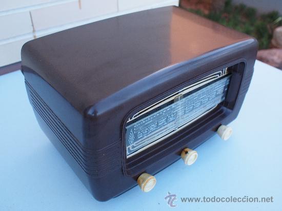 Radios de válvulas: FUNCIONANDO -PRECIOSA RADIO A VALVULAS - Foto 2 - 35510640