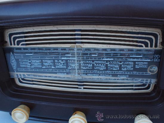 Radios de válvulas: FUNCIONANDO -PRECIOSA RADIO A VALVULAS - Foto 4 - 35510640