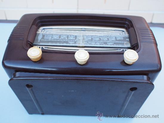 Radios de válvulas: FUNCIONANDO -PRECIOSA RADIO A VALVULAS - Foto 5 - 35510640