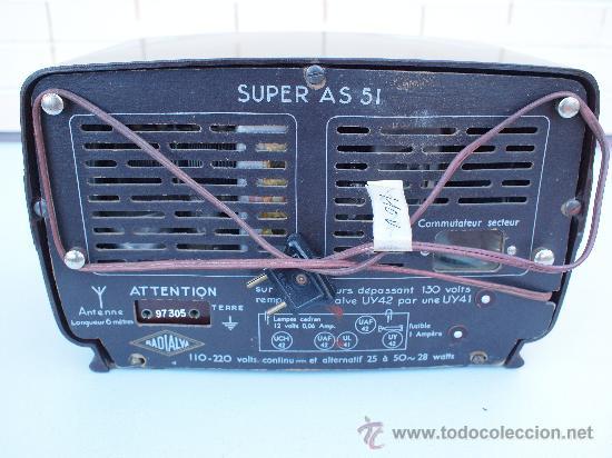 Radios de válvulas: FUNCIONANDO -PRECIOSA RADIO A VALVULAS - Foto 6 - 35510640
