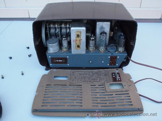 Radios de válvulas: FUNCIONANDO -PRECIOSA RADIO A VALVULAS - Foto 7 - 35510640