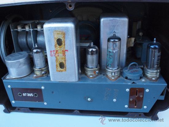 Radios de válvulas: FUNCIONANDO -PRECIOSA RADIO A VALVULAS - Foto 9 - 35510640