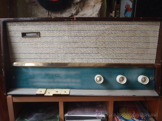 RADIO DE VALVULAS ASKAR FUNCIONA. (Radios, Gramófonos, Grabadoras y Otros - Radios de Válvulas)