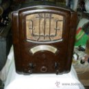 Radios de válvulas: RADIO SABA FUNCIONANDO. Lote 36097993