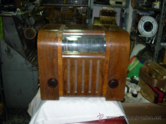 RADIO BLAUPUNKT (Radios, Gramófonos, Grabadoras y Otros - Radios de Válvulas)