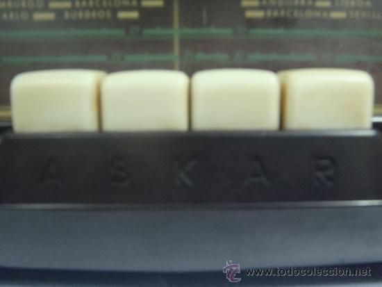 Radios de válvulas: RADIO DE VALVULAS FUNCIONANDO MARCA ASKAR - Foto 2 - 36993284