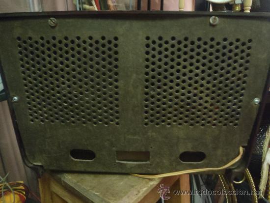 Radios de válvulas: RADIO DE VALVULAS FUNCIONANDO MARCA ASKAR - Foto 3 - 36993284