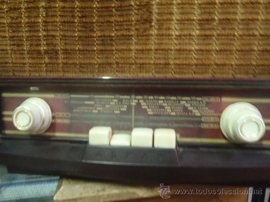 Radios de válvulas: RADIO DE VALVULAS FUNCIONANDO MARCA ASKAR - Foto 5 - 36993284