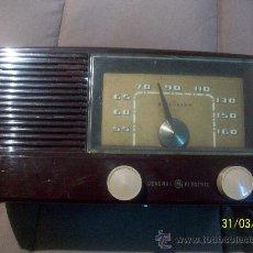 Radios de válvulas: RADIO MARCA ,GENERAL,GG,ELECTRIC FUNCIONA. Lote 37054953