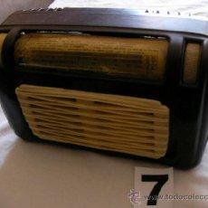 Radios de válvulas: ANTIGUA RADIOMARELLI MODELLO 13O DE BAKELITA . Lote 37806357