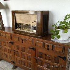 Radios de válvulas: RADIO ANTIGUA VALVULAS. BLAUPUNKT. MODELO BARCELONA. FUNCIONA. Lote 38814835