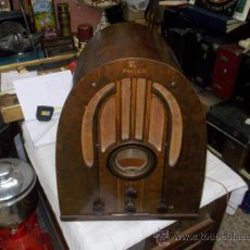 Radios de válvulas: RADIO CAPILLA PHILCO. Lote 39281057