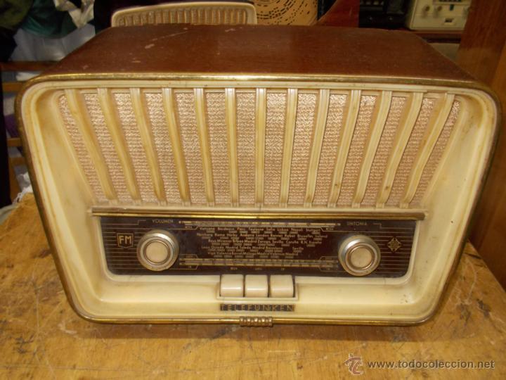 RADIO TELEFUNKEN SERENATA (Radios, Gramófonos, Grabadoras y Otros - Radios de Válvulas)