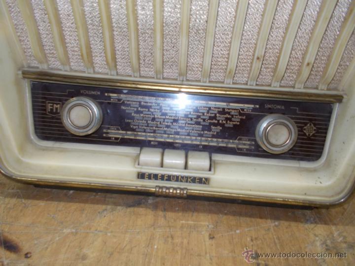 Radios de válvulas: Radio telefunken serenata - Foto 3 - 39598873