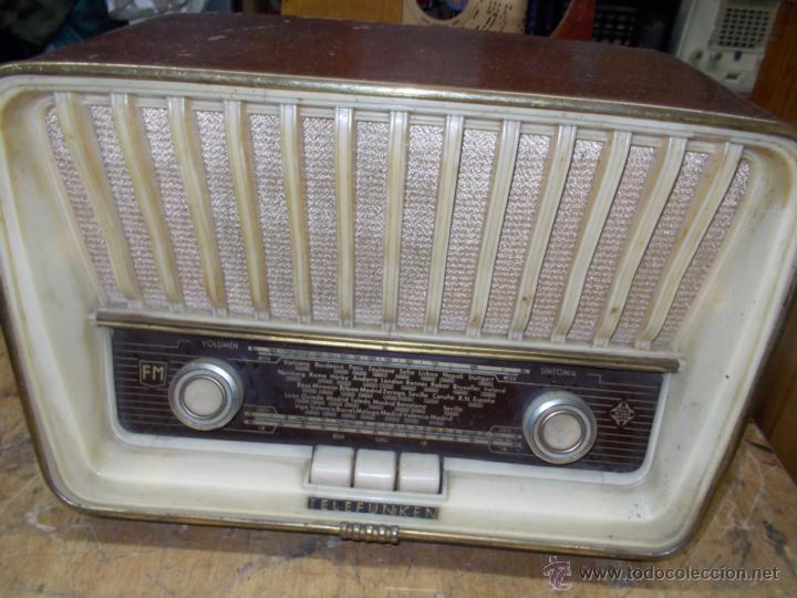 Radios de válvulas: Radio telefunken serenata - Foto 4 - 39598873