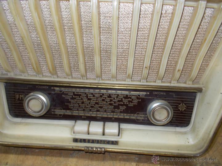 Radios de válvulas: Radio telefunken serenata - Foto 8 - 39598873