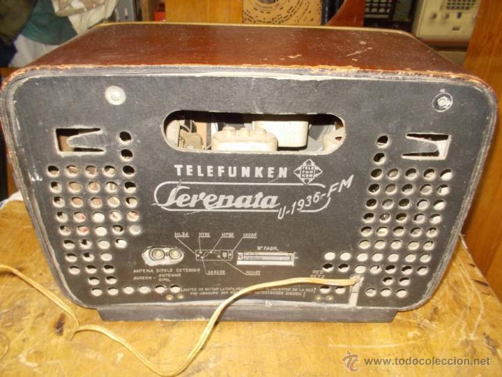 Radios de válvulas: Radio telefunken serenata - Foto 13 - 39598873