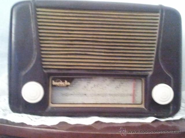 RADIO INVICTA MODELO 5207 (Radios, Gramófonos, Grabadoras y Otros - Radios de Válvulas)